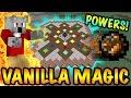 MAGIC IN VANILLA MINECRAFT | Minecraft Vanilla Magic Mod