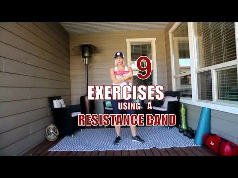 9 Exercise You Can Do With A Band Workout!