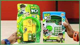Ben10 Alien Force Racing car with Track & Ben10 Piggy Bank