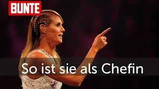 Heidi Klum - So ist sie wirklich als Chefin! - BUNTE TV