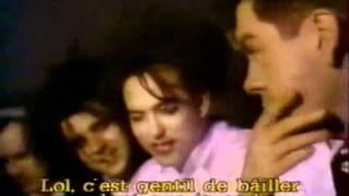 THE CURE -interview- Les enfants du rock 1987 (french TV) part 2/3