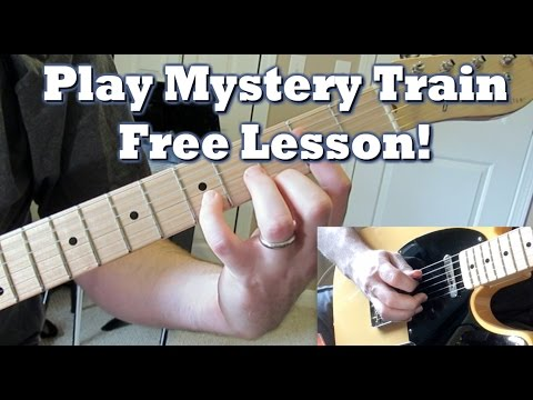 Rockabilly Guitar Lesson: Mystery Train [Part 1]