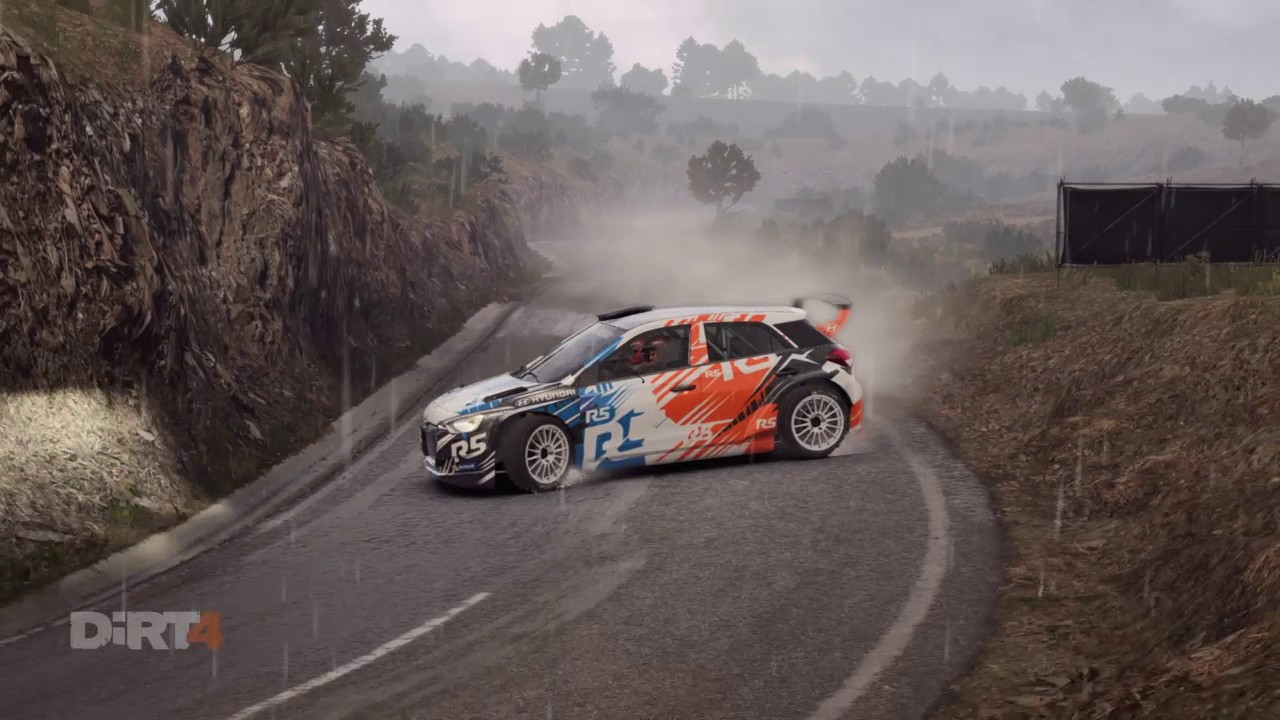 dirt 4 hyundai i20 r5 espagne generated stage ps4. Black Bedroom Furniture Sets. Home Design Ideas