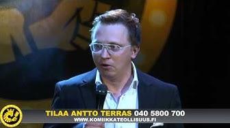 Stand up koomikko Antto Terras keikalla osa 1/2.