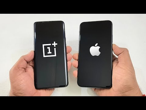 IPhone 11 Pro Max Vs OnePlus 7 Pro SPEEDTEST !!