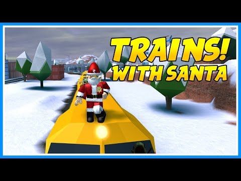🔴ROBING TRAINS WITH SANTA! | TRAINS! | Roblox Live | JAILBREAK WINTER UPDATE! | JOIN US!!