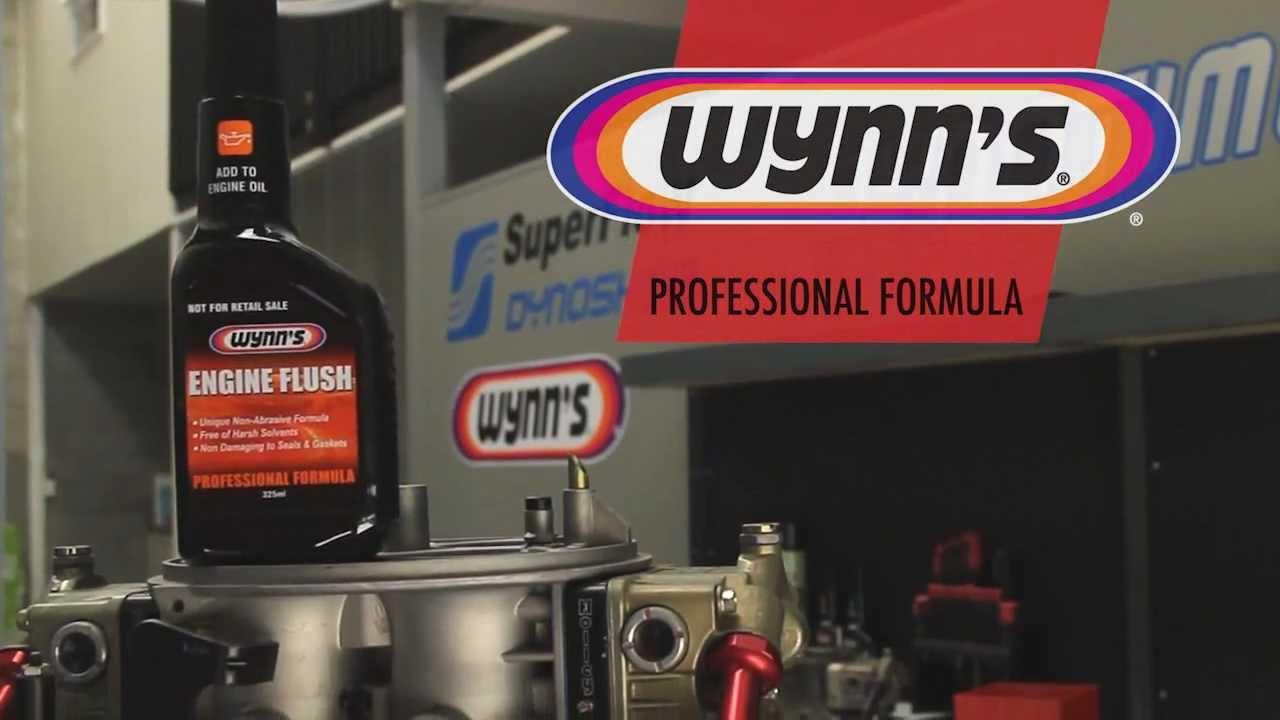 Wynns Engine Flush Youtube
