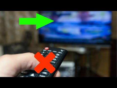 Changing Your TV's Input Without A Remote 2019 - YouTube