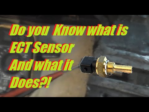 ect engine coolant temperature sensor   affect fuel mixture  idle youtube