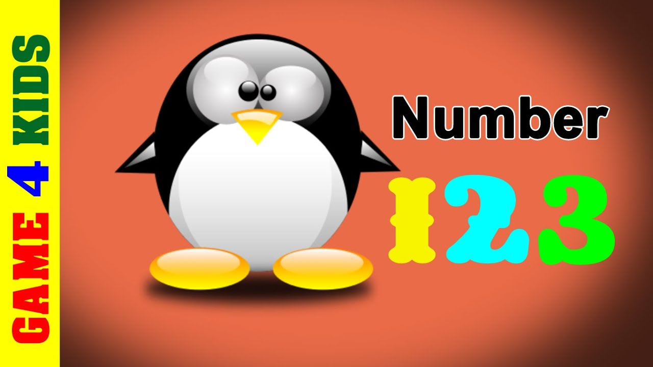Let's Count 123! Game for Kids - Early Learning- Learn 123 to 10 with  Pinguin