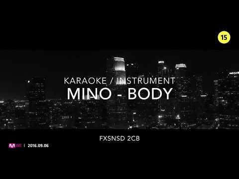 [KARAOKE] MINO - BODY