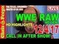 🔴 WWE RAW 12/4/2017 FULL SHOW REVIEW! HD Highlights Results Chris Peepz Reaction!