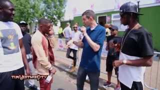 Westwood - Krept & Konan, Stormzy backstage Wireless