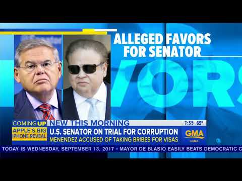 "ABC's GMA: Democrat Bob Menendez's Corruption Trial Sounds ""Like An Episode Of Scandal"""