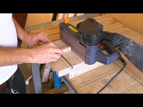 Mini Edge Sander - Belt Sander Stand / Clamp