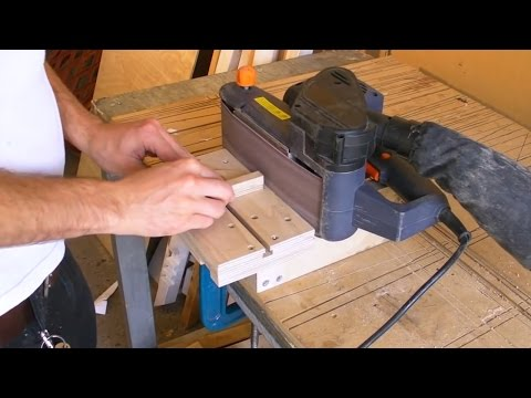 Mini Edge Sander - Belt Sander Stand / Clamp