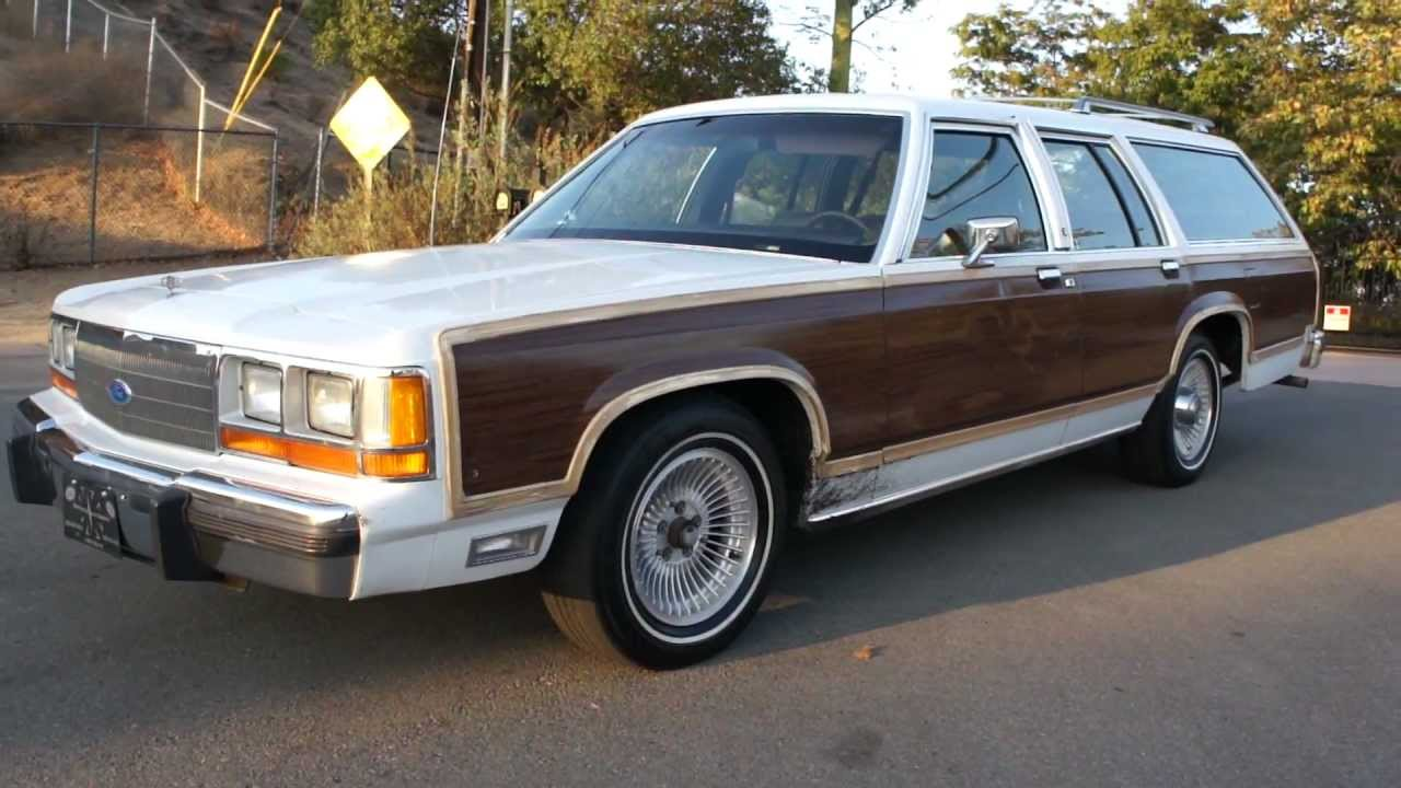 1990 ford country squire ltd station wagon break estate woodie woody 2650 youtube