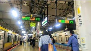 《乗り換え》三鷹駅、JR中央・総武線各停(終点)から中央線快速へ。 Mitaka