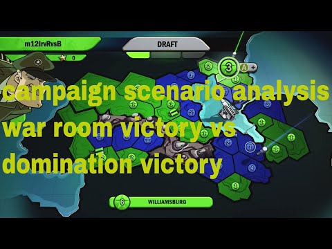 strategy guide risk factions war room scenario analysis of campaign levels 1 and 2