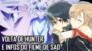 Volta de Hunter x Hunter, News do filme de SAO e design polêmico de Alderamin | IntoxiNews