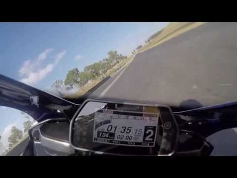 2015 YZF-R1 flying lap around Sydney Motorsport Park