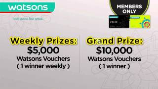 Only for Watsons Card Members - Round 2 Thumbnail