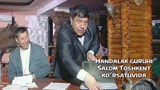 "Handalak guruhi ""Salom Toshkent"" ko'rsatuvida 2015"