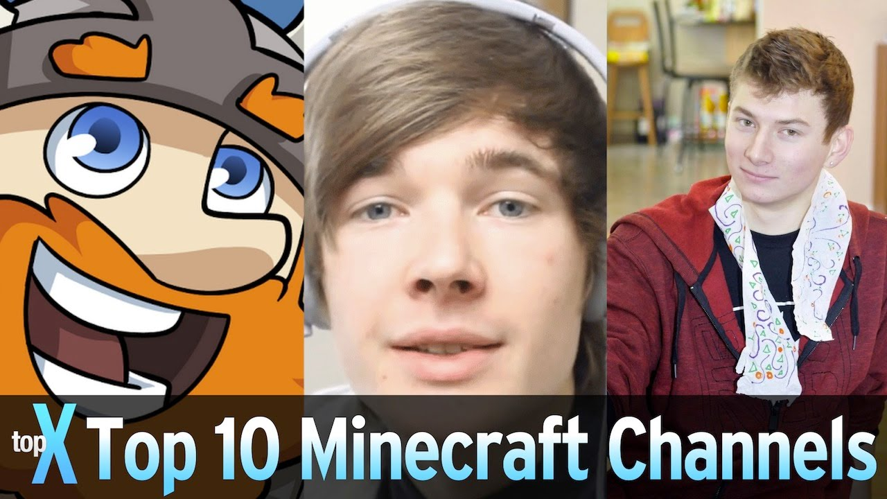 Top 8 YouTube Minecraft Channels - TopX Ep.8  WatchMojo.com