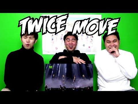 TWICE - MOVE  REACTION FUNNY FANBOYS