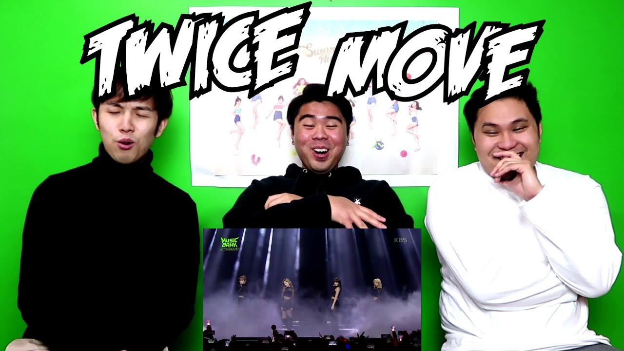 TWICE - MOVE LIVE REACTION (FUNNY FANBOYS)