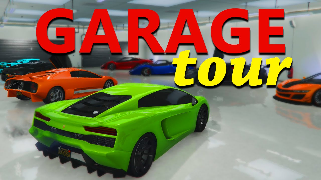 Gta5 garage tour grand theft auto online youtube for Garage automobile tours nord