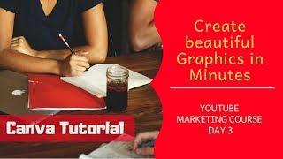 Canva تصميم الجرافيك التعليمي في الهندية | إنشاء Infographic على الفور | أشيش أغراوال