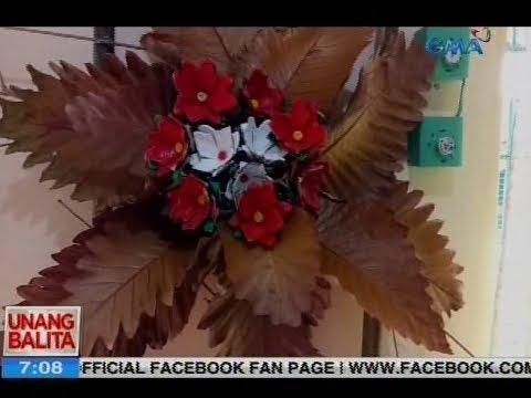 UB: Mga parol, ginawa ng mga estudyante mula sa mga lumang bakal at basurang plastic
