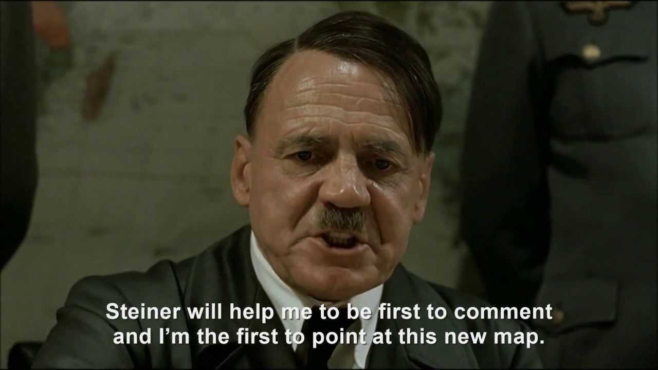 Hitler plans to be the first to comment