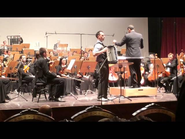 Apricity - Concerto for Accordion & Orchestra (Julien Labro)