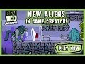 Ben 10 Omniverse: New Aliens in Game Creator - Ben 10 Games
