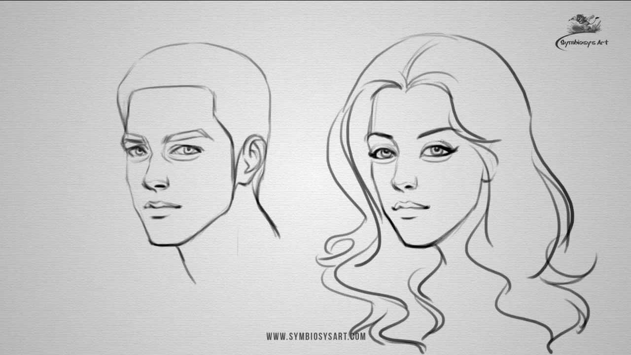 By A Step Man How To And Woman Step Draw