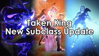 Destiny Taken King: Sunbreaker, Stormcaller and Nightstalker Subclass Updates