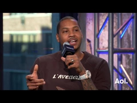 Carmelo Anthony on His Vice Clubhouse | AOL BUILD