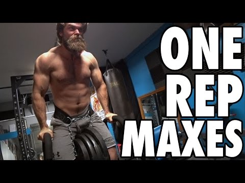 OUR ONE REP MAXES! | Buff Dudes Bulking Plan | Phase 5