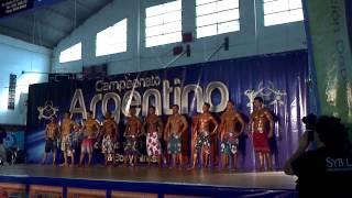 Campeonato Argentino 2013 categoria mens physique