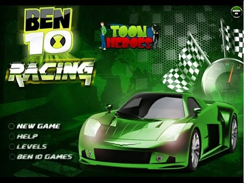 Ben 10 Race Car Ben 10 Car Games Online Free Play Youtube