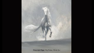 How to Paint a Horse (Sketch) in Oil - Narrated