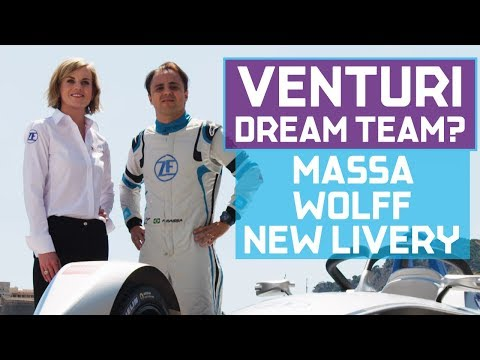 Susie Wolff And Felipe Massa Preview Venturi's Season 5 Plans In The ABB FIA Formula E Championship