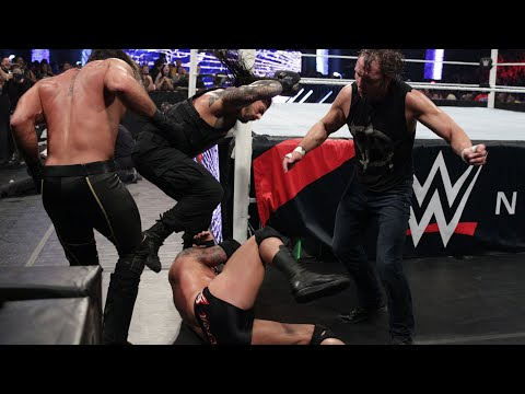 This Day In History: A reunited Shield Triple Power Bombs Randy Orton on a table: WWE Payback 2015