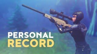 PERSONAL RECORD - HIGHEST KILL GAME! (Fortnite Battle Royale) thumbnail
