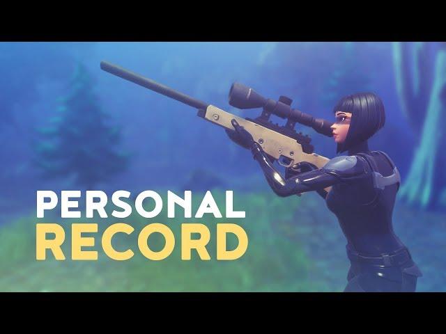 PERSONAL RECORD - HIGHEST KILL GAME! (Fortnite Battle Royale)