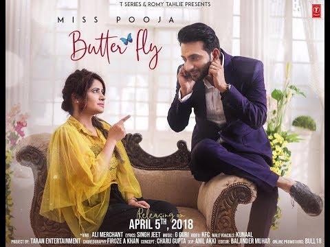 Butterfly Miss Pooja Ft Ali Merchant Full Official Song  Latest Punjabi Songs 2018 I Gabruu.com