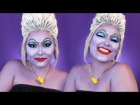 the-little-mermaid-ursula-the-sea-witch-makeup-tutorial