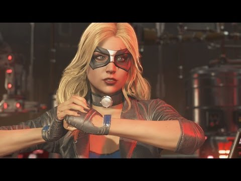 Injustice 2 - Black Canary All Intro/Interaction Dialogues